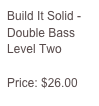 Fluency - Double Bass Level Three  Price: $26.00